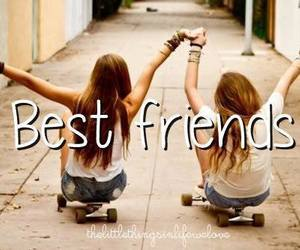 best friends and girls image