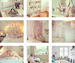 bedroom, white, and decoracion image