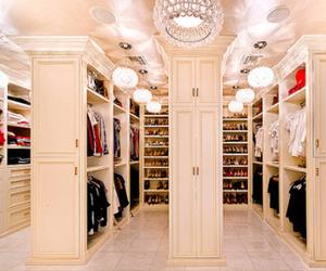 chic, luxury, and closet image