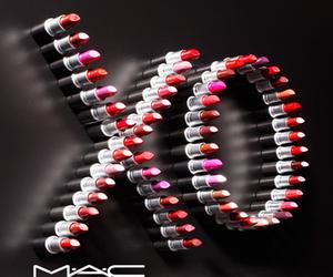 mac, lipstick, and xo image