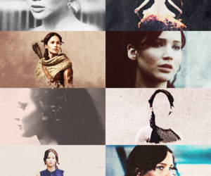 Jennifer Lawrence, thg, and the hunger games image