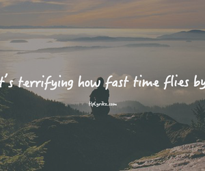 by, flies, and time flies image