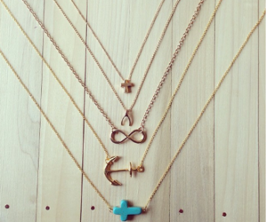 anchor, cross, and fashion image