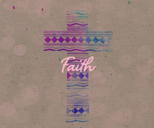 faith, colors, and cross image