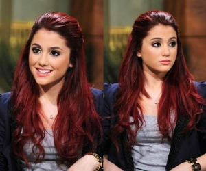 ariana grande, red hair, and ariana image