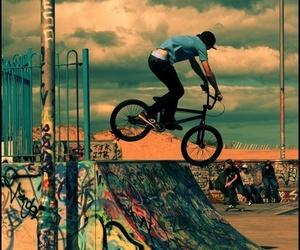 bike, bmx, and boy image