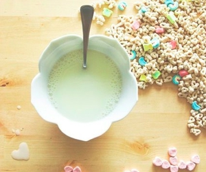 cereal and milk image