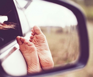 photography, car, and feet image