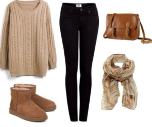 fashion, Polyvore, and sweather image