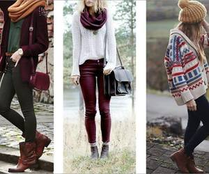 outfit, winter, and style image