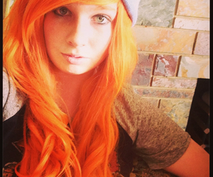 candy, hair, and orange image