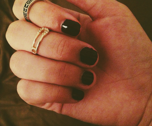 fashion, nails, and vintage image