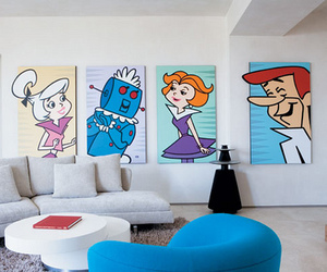cartoon, home, and the jetsons image