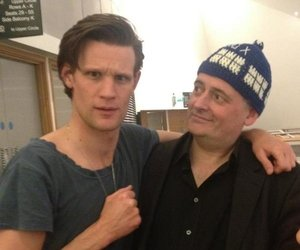 matt smith, doctor who, and steven moffat image