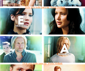 team, the hunger games, and catching fire image