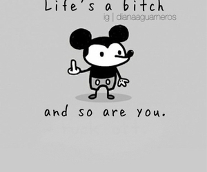 disney, mickey mouse, and quote image