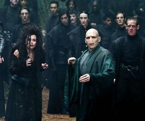 harry potter, voldemort, and bellatrix lestrange image