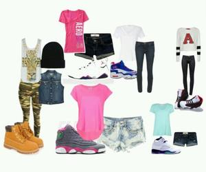 fashion, outfits, and jordans image