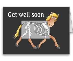 get well soon, hospital, and pony image