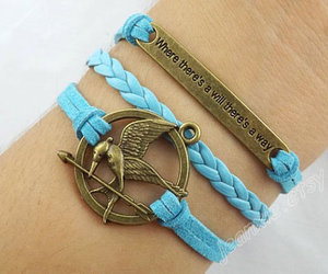 catching fire, hipster jewelry, and inspirational bracelet image
