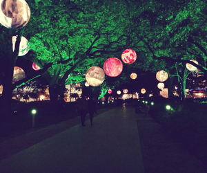 beauty, lanterns, and nights image