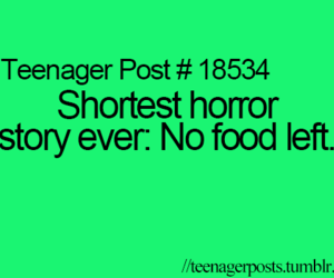 food and horror image