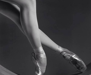 ballet, dancing, and pastel image