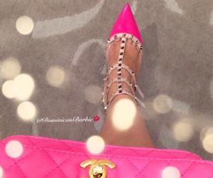 chanel, fashion, and high heels image