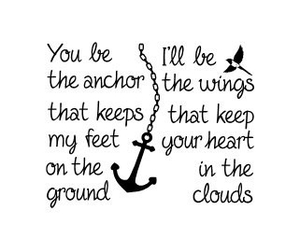 anchor, quote, and wings image