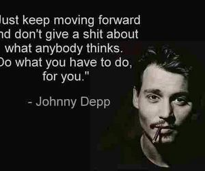 johnny depp, quotes, and life image