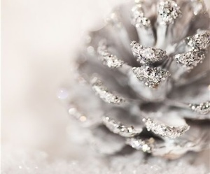 christmas, glitter, and winter image