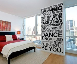 quote, room, and Dream image