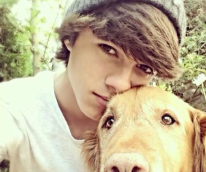 dog, brent rivera, and brent image