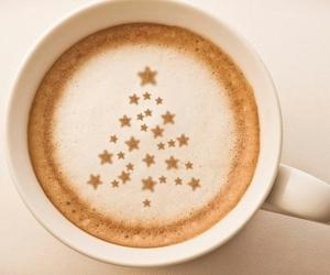 coffee, christmas, and tree image
