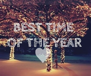 christmas, christmas tree, and best time image