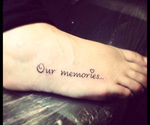 dad, memories, and tattoo image