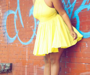 curls, girl, and plus size image