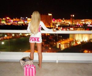 pink, Victoria's Secret, and girl image