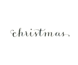 beauty, black and white, and christmas image