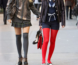 gossip girls and fashion outfit image