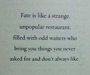 fate, funny, and quote image