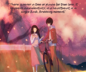 anime, quote, and anime boy image