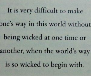lemony snicket, quote, and wicked image