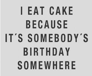 cake, funny, and jokes image