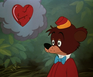 disney, heart, and bear image