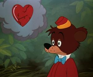 disney, heart, and bear image