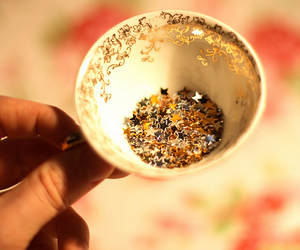 stars, cup, and glitter image