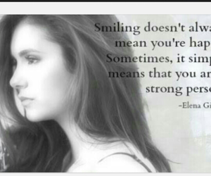elena, quotes, and smile image