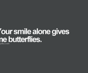quote, butterflies, and love image