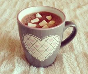 chocolate, drink, and heart image